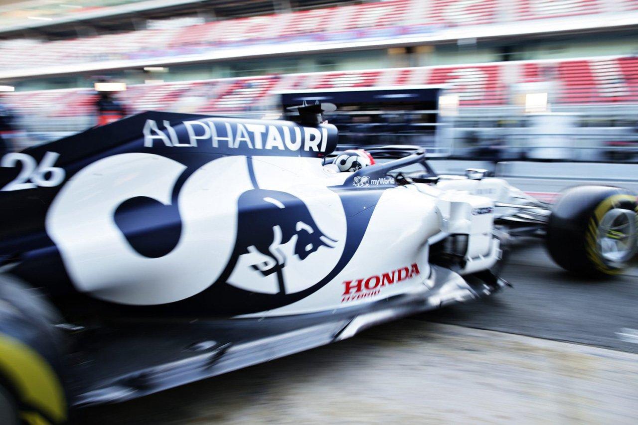 ダニール・クビアト 「ホンダの新型F1エンジンの運転特性に違いはない」