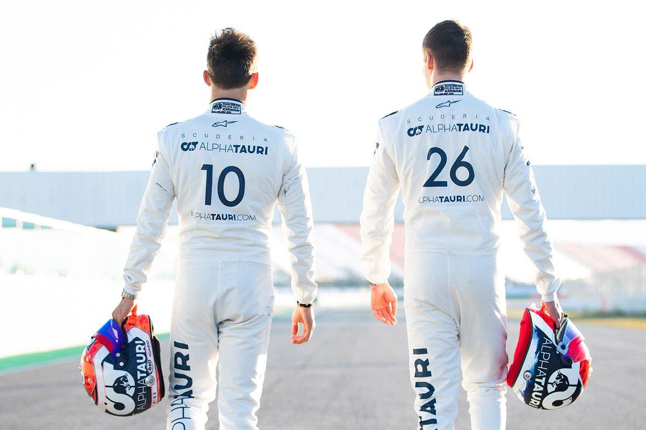 アルファタウリ、F1バルセロナテスト2回目のドライバー日程を発表