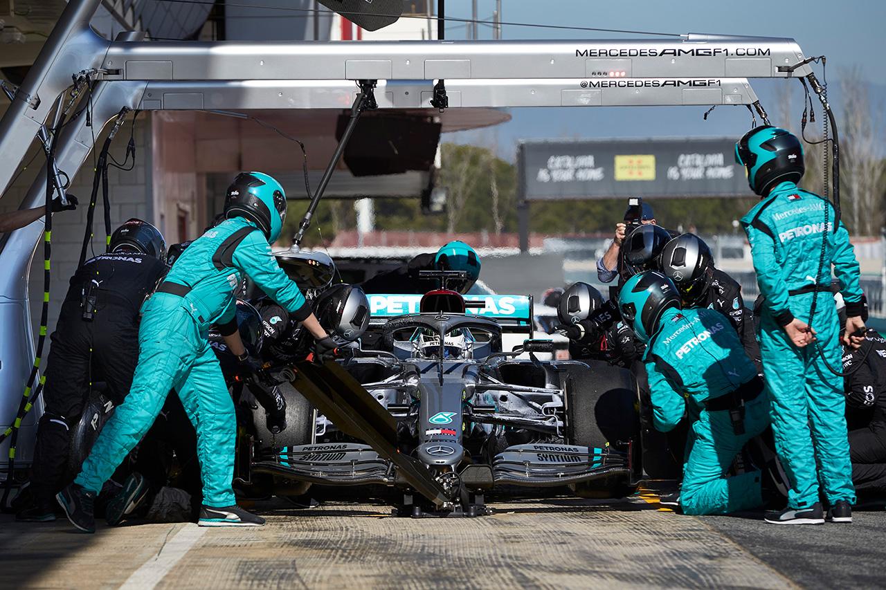 2020年 F1バルセロナテスト1回目:総合タイム&周回数・走行距離