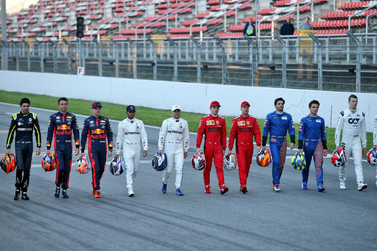 2020年 F1バルセロナテスト2回目 参加ドライバー&テスト日程