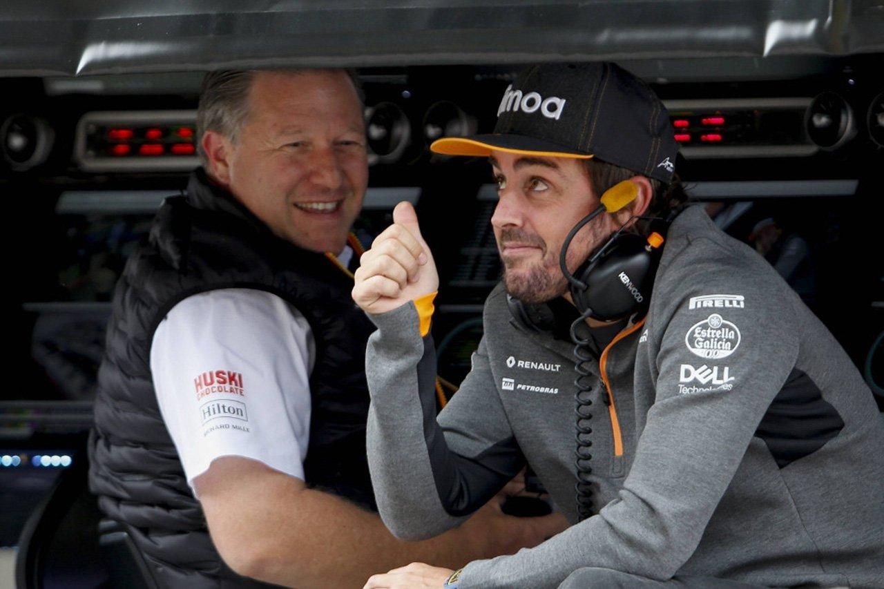 マクラーレン、フェルナンド・アロンソのF1チームへの復帰は除外