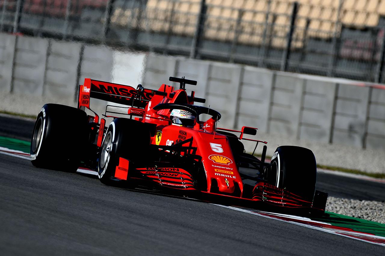 ベッテル最速、ホンダF1勢は5・10番手 / F1バルセロナテスト2 結果(午前)