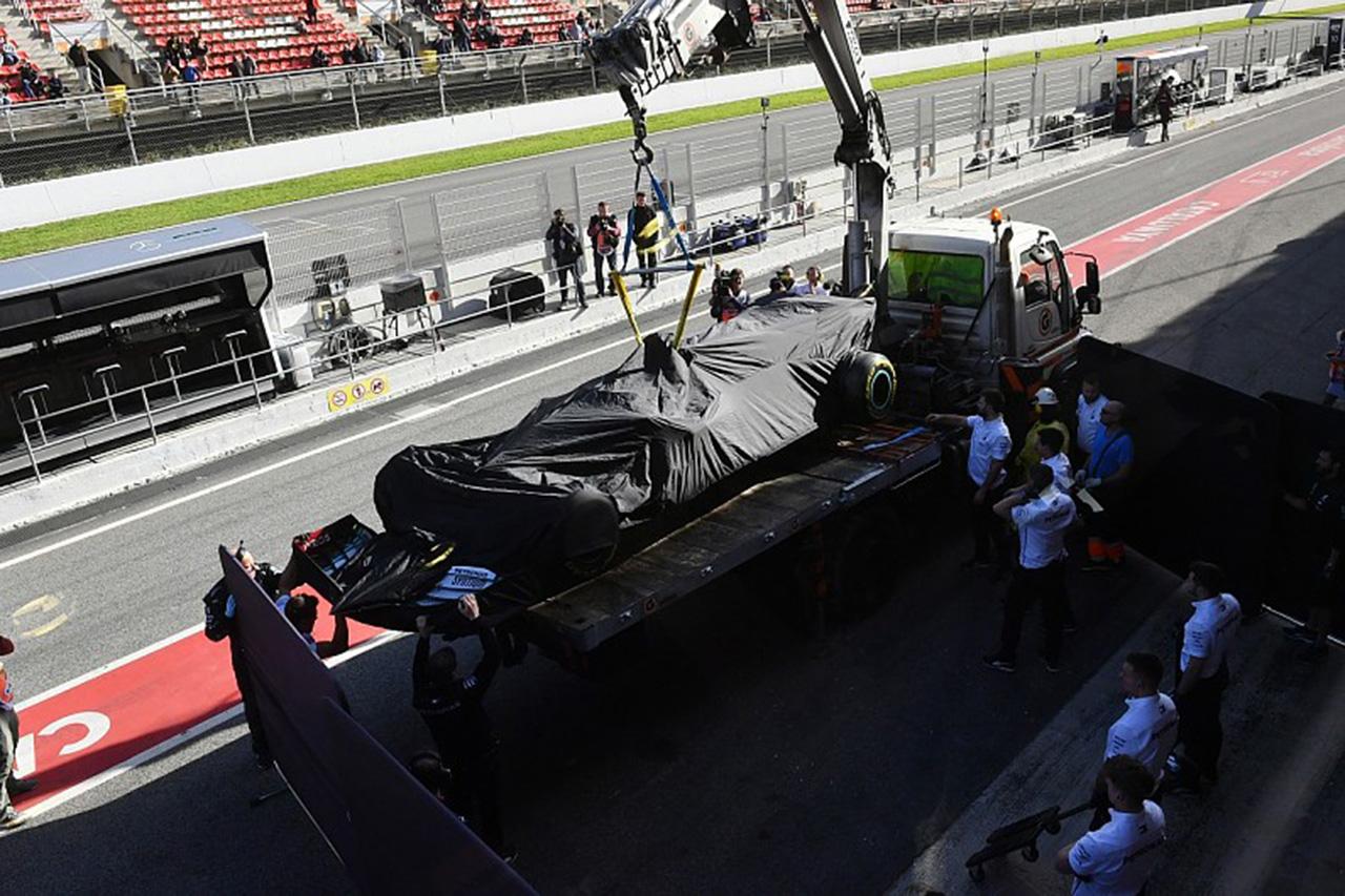 メルセデスのF1エンジンの信頼性に綻び・・・4回目のトラブルが発生