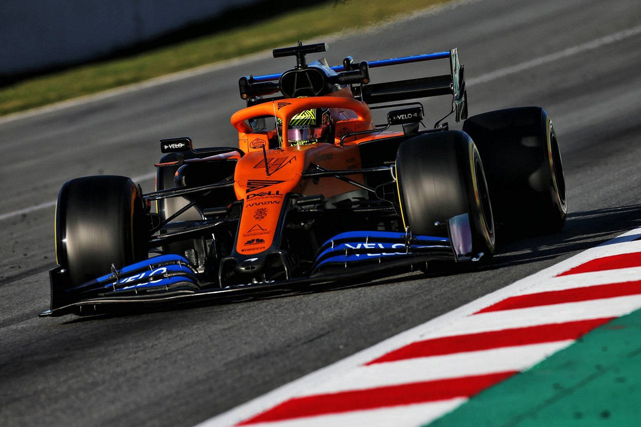 F1 ランド・ノリス 「マクラーレンMCL35にはかなり明白な弱点がある」
