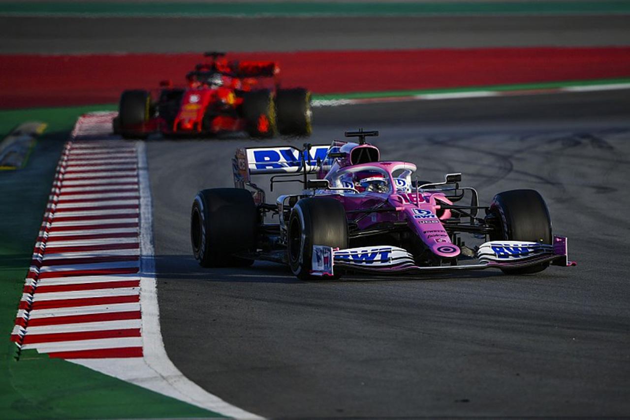 レーシング・ポイントF1、RP20の競争力に自信 「目標は打倒フェラーリ」