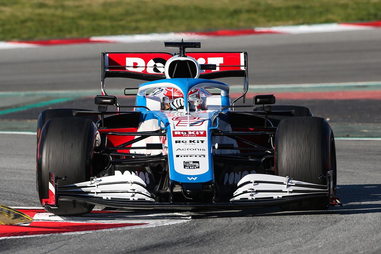 F1 ジョージ・ラッセル、進歩を実感も「ウィリアムズはまだ最も遅いマシン」