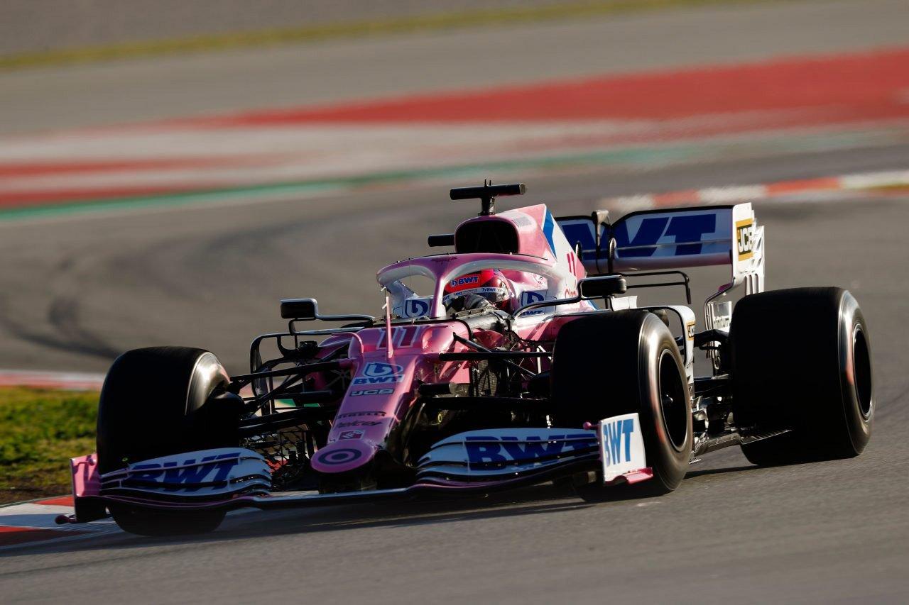 レーシング・ポイントF1 「マクラーレンは我々のマシンに嫉妬している」