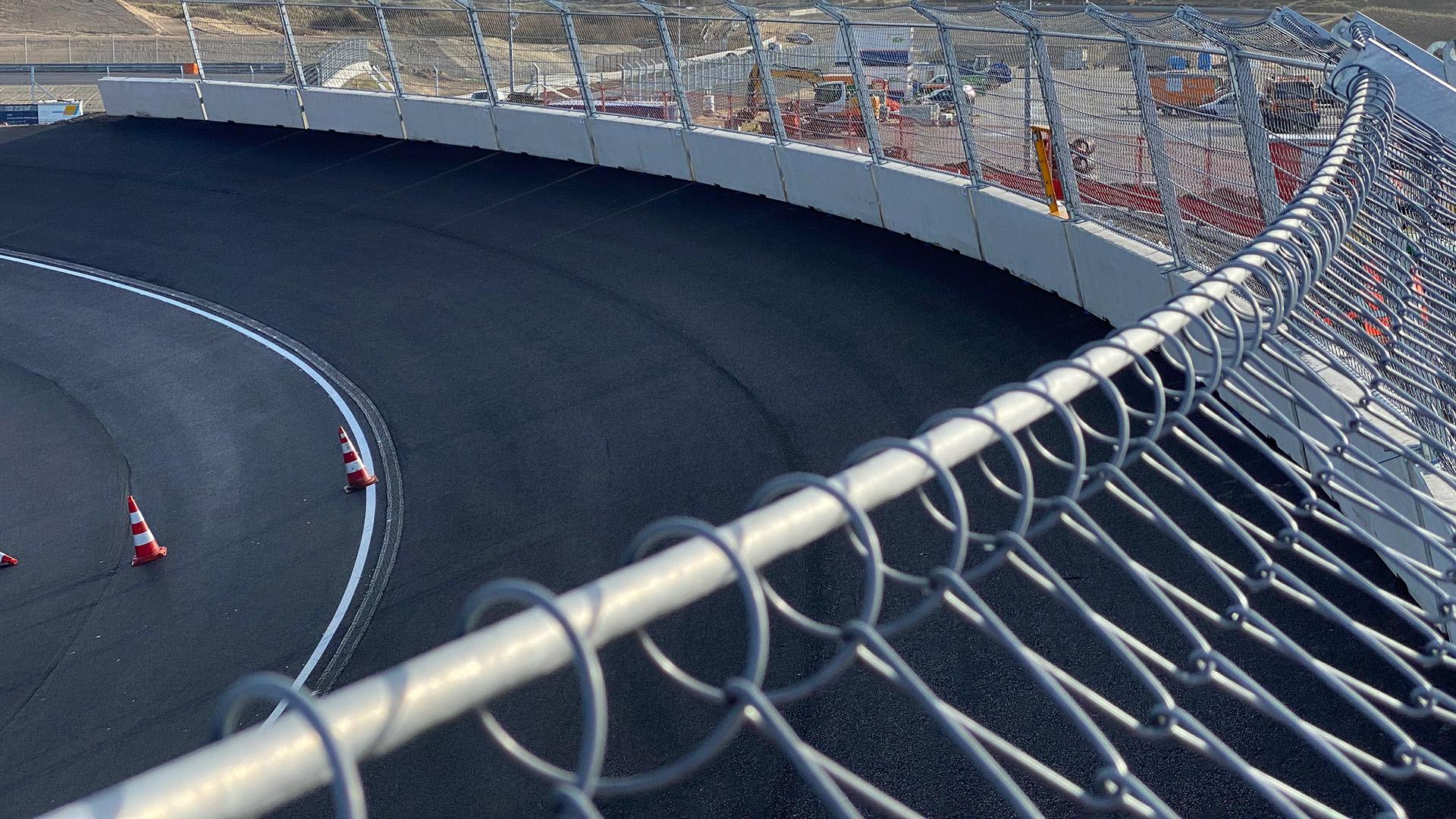 F1オランダGP ザントフォールト バンクコーナー 画像(3)
