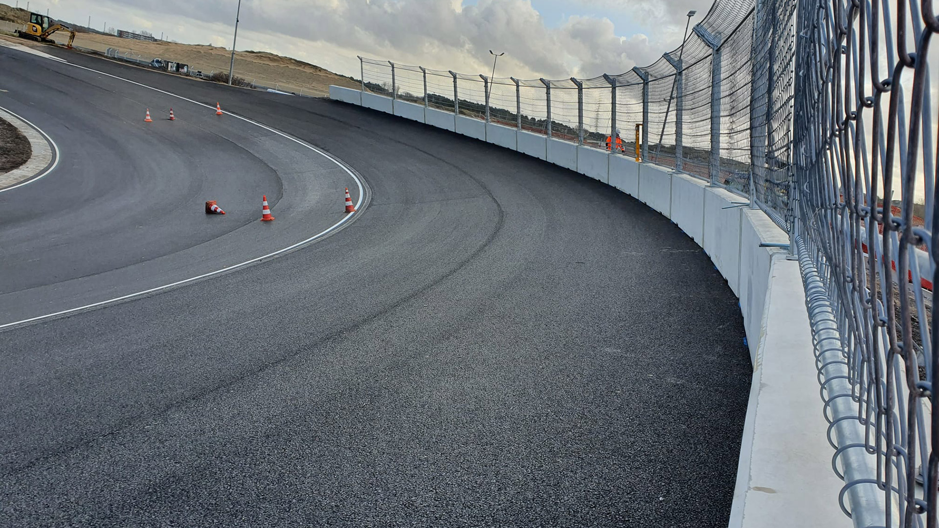 F1オランダGP ザントフォールト バンクコーナー 画像(2)