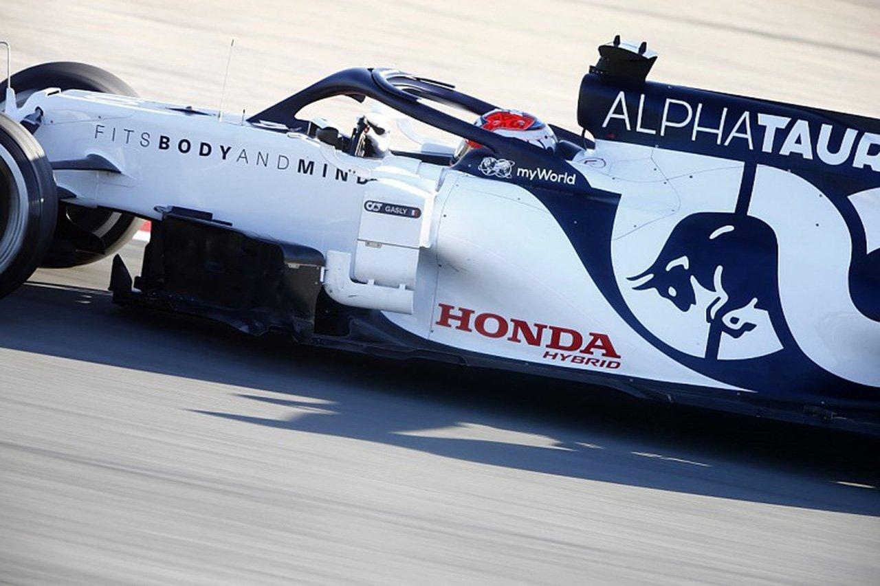 「ホンダのF1エンジンはパッケージング面で大きく前進」とアルファタウリ