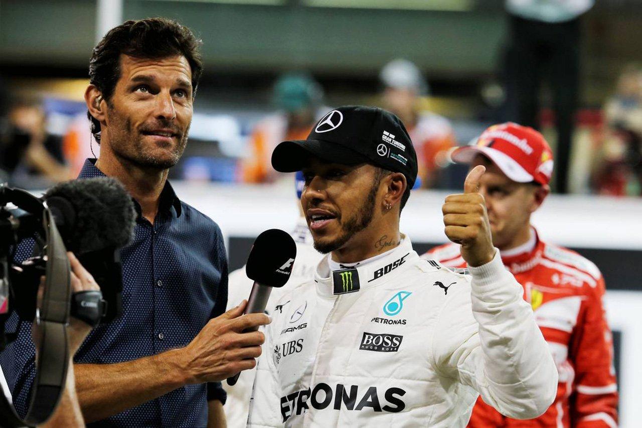 F1 マーク・ウェバー 「今年もルイス・ハミルトンを倒すのは難しい」