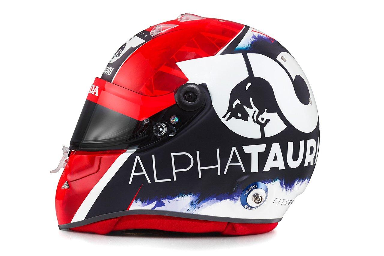ダニール・クビアト 2020年F1ヘルメット / アルファタウリ・ホンダ