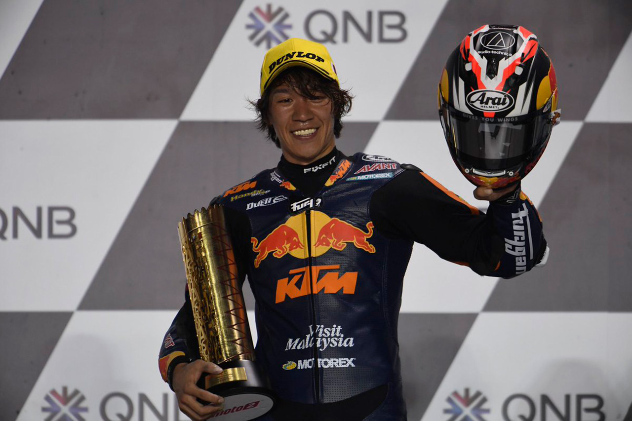 長島哲太、Moto2クラス初優勝 / 開幕戦カタールGP