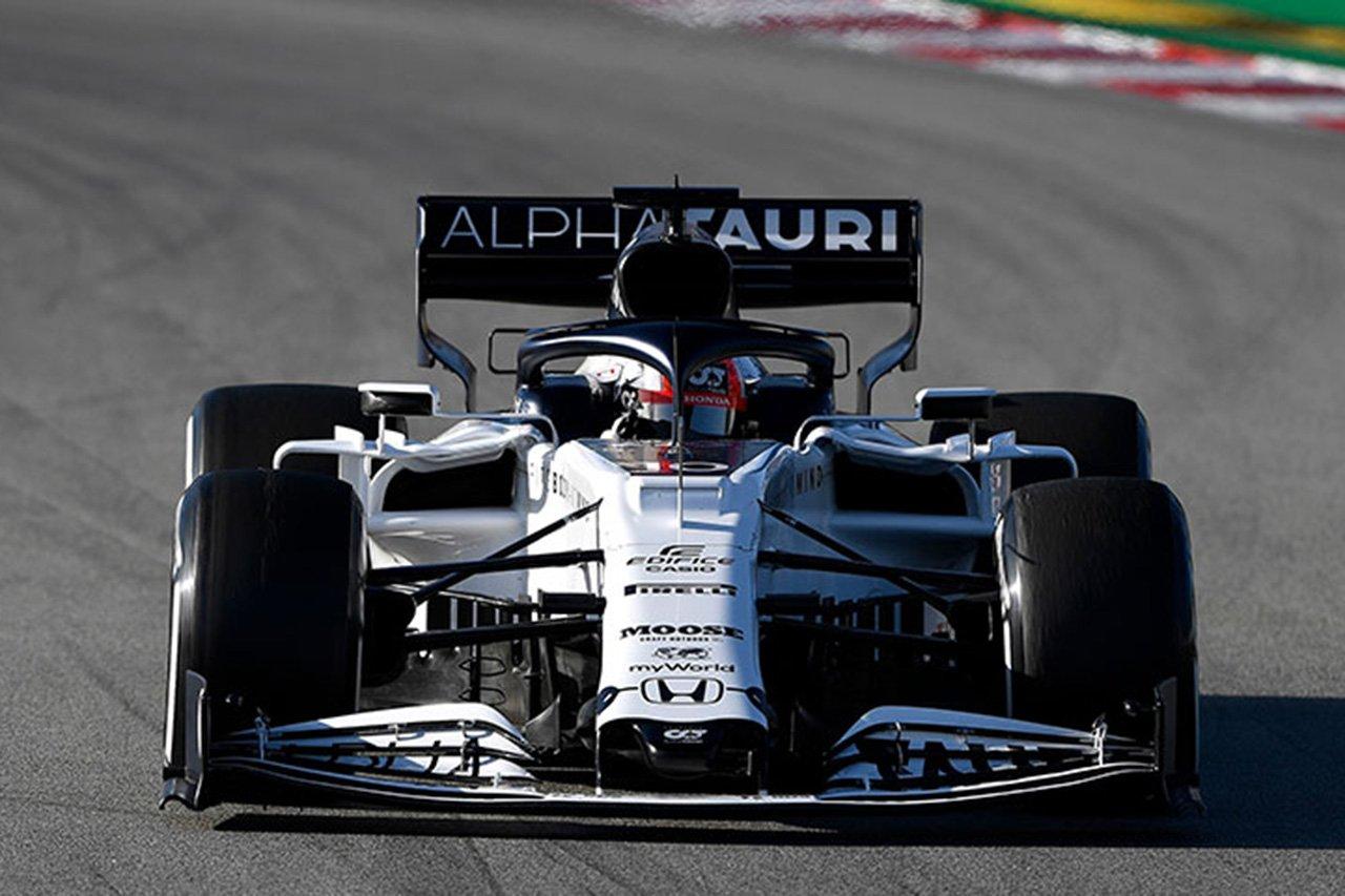 アルファタウリ・ホンダF1、タイ企業『Moose』との契約を継続