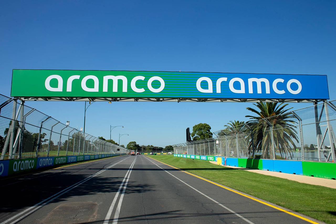 F1、サウジアラムコとのスポンサー契約を発表