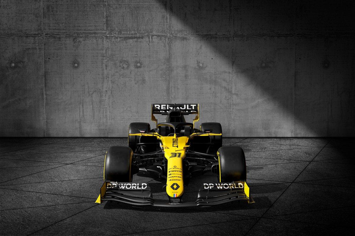 ルノー DPワールド F1チーム R.S.20