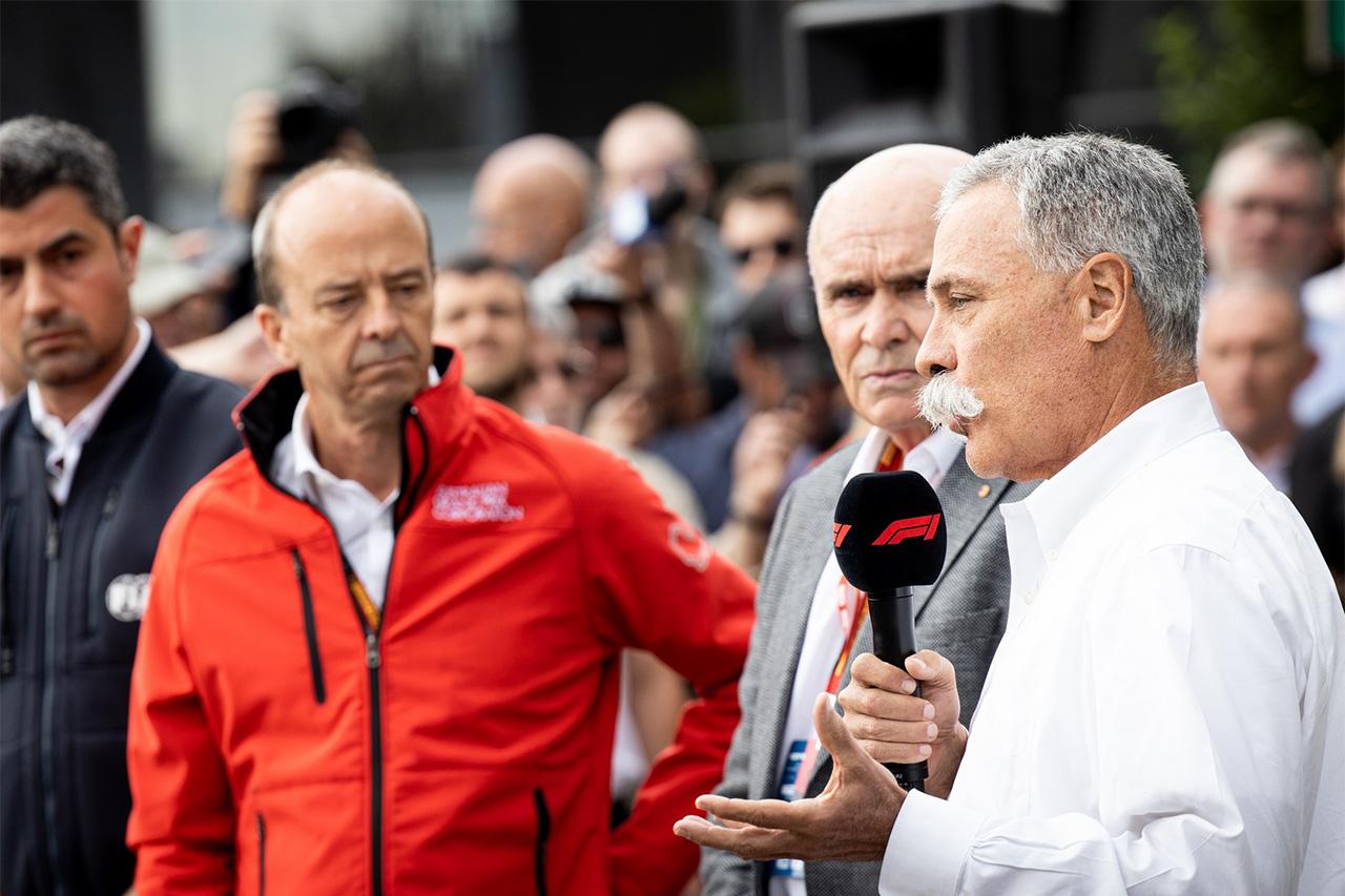 F1:チェイス・キャリー 「F1オーストラリアGPの中止は正しい判断」