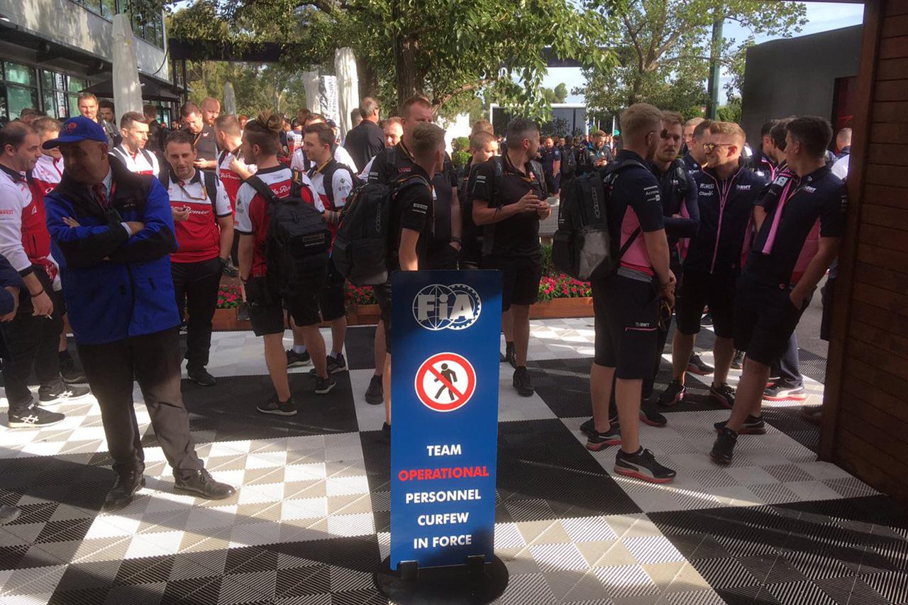 F1オーストラリアGP 現地情報:正式発表なく6チームがサーキット入り