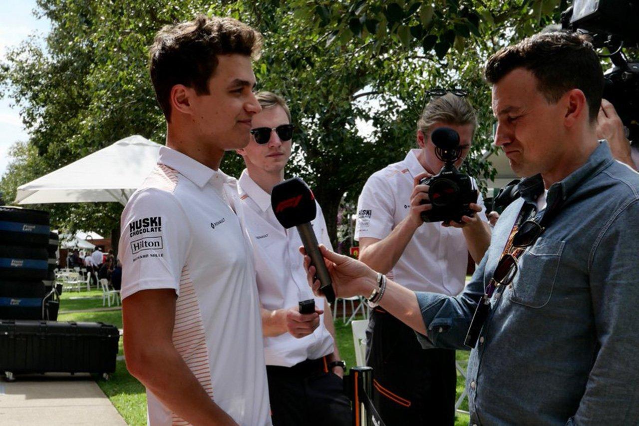 マクラーレンのランド・ノリス 「最も重要なことは全員の健康」 / F1オーストラリアGP