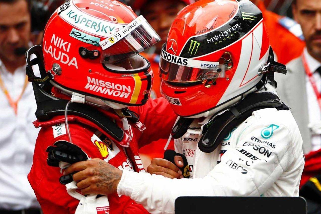 F1エンジン不正行為論争でもハミルトンとベッテルの友情は不変