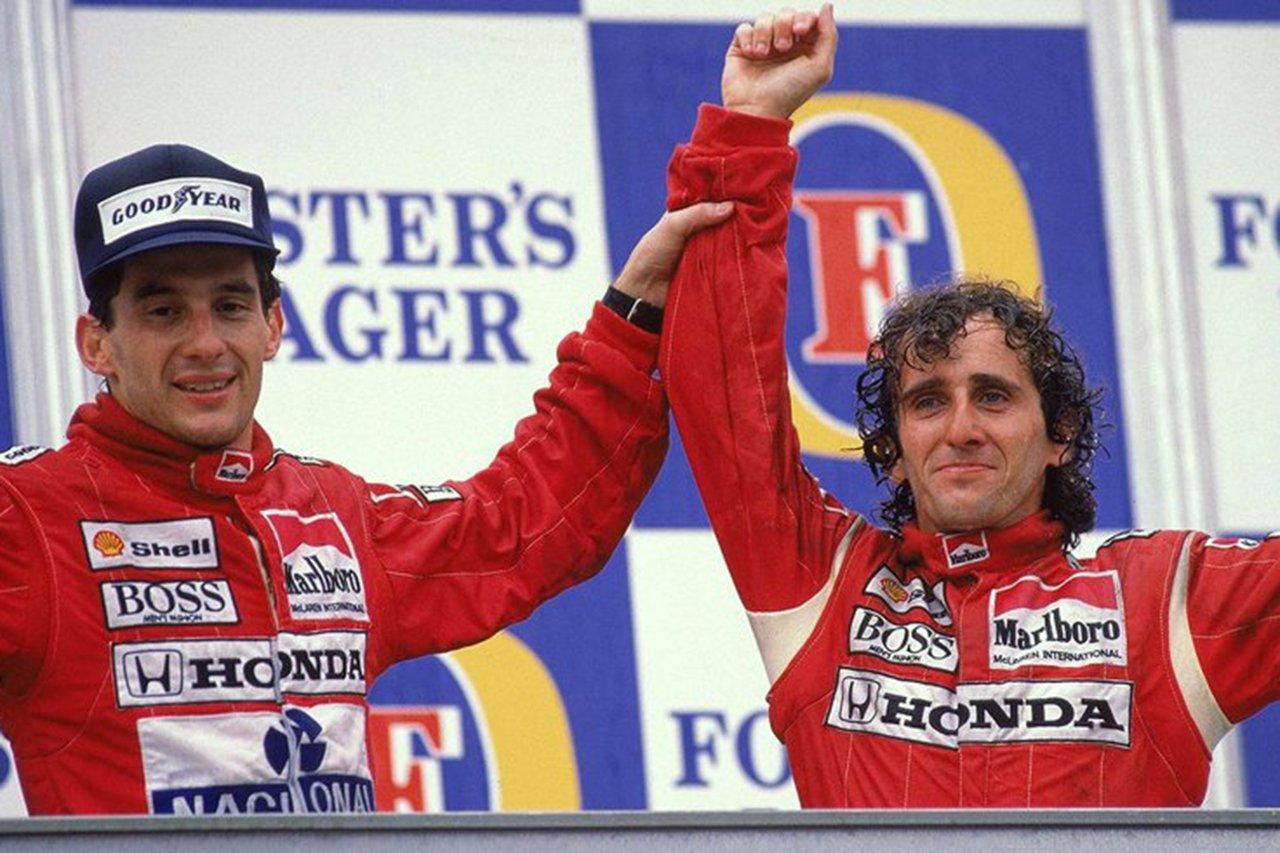 F1:アラン・プロスト 「セナとのライバル関係/友情ともに生きている」