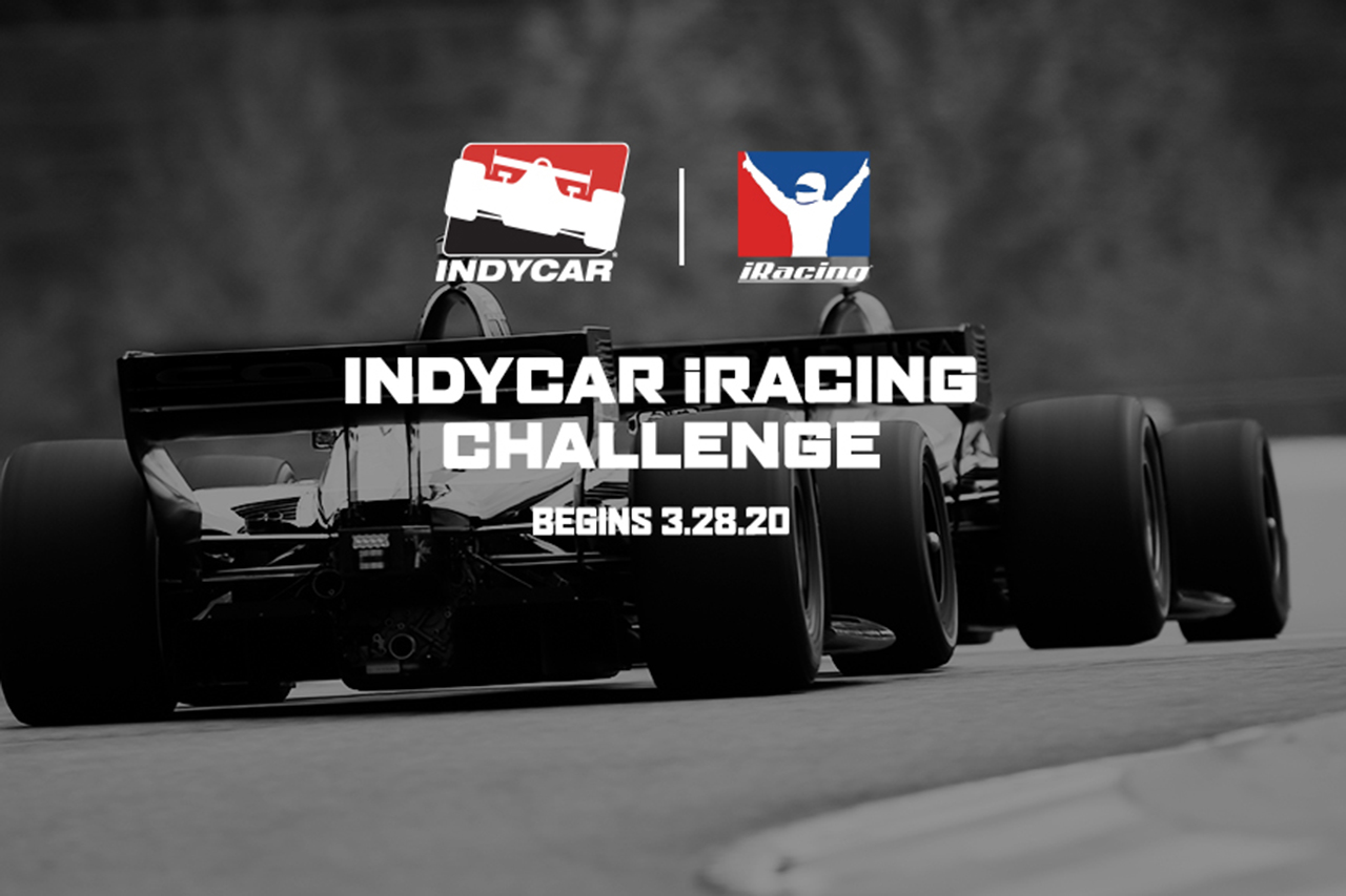 インディカー:iRacingでバーチャルシリーズを開催