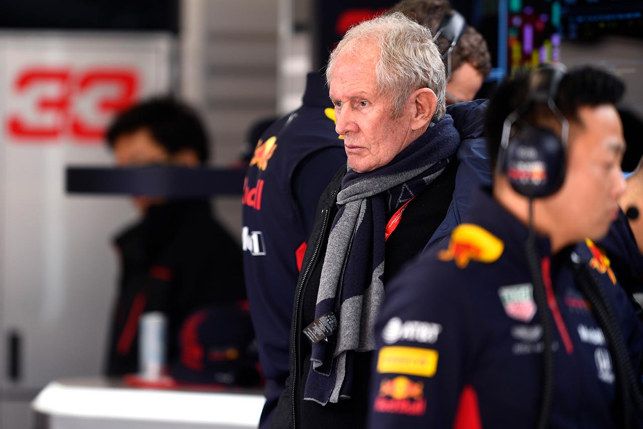 F1:ヘルムート・マルコ 「新型コロナウイルスに感染していた可能性がある」 / レッドブル・ホンダF1