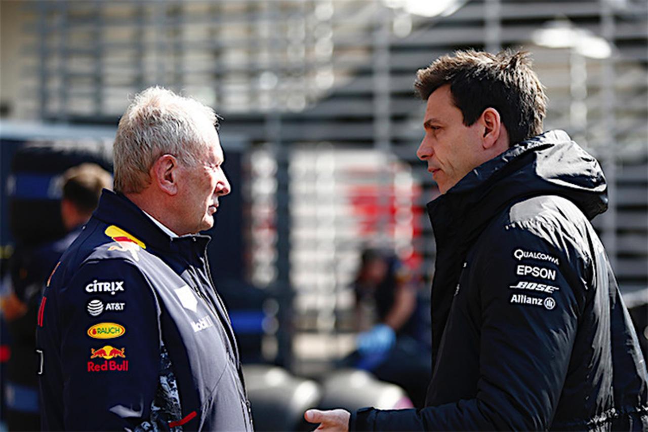 レッドブルF1 「メルセデスが降りてもFIA/フェラーリへの追及はやめない」