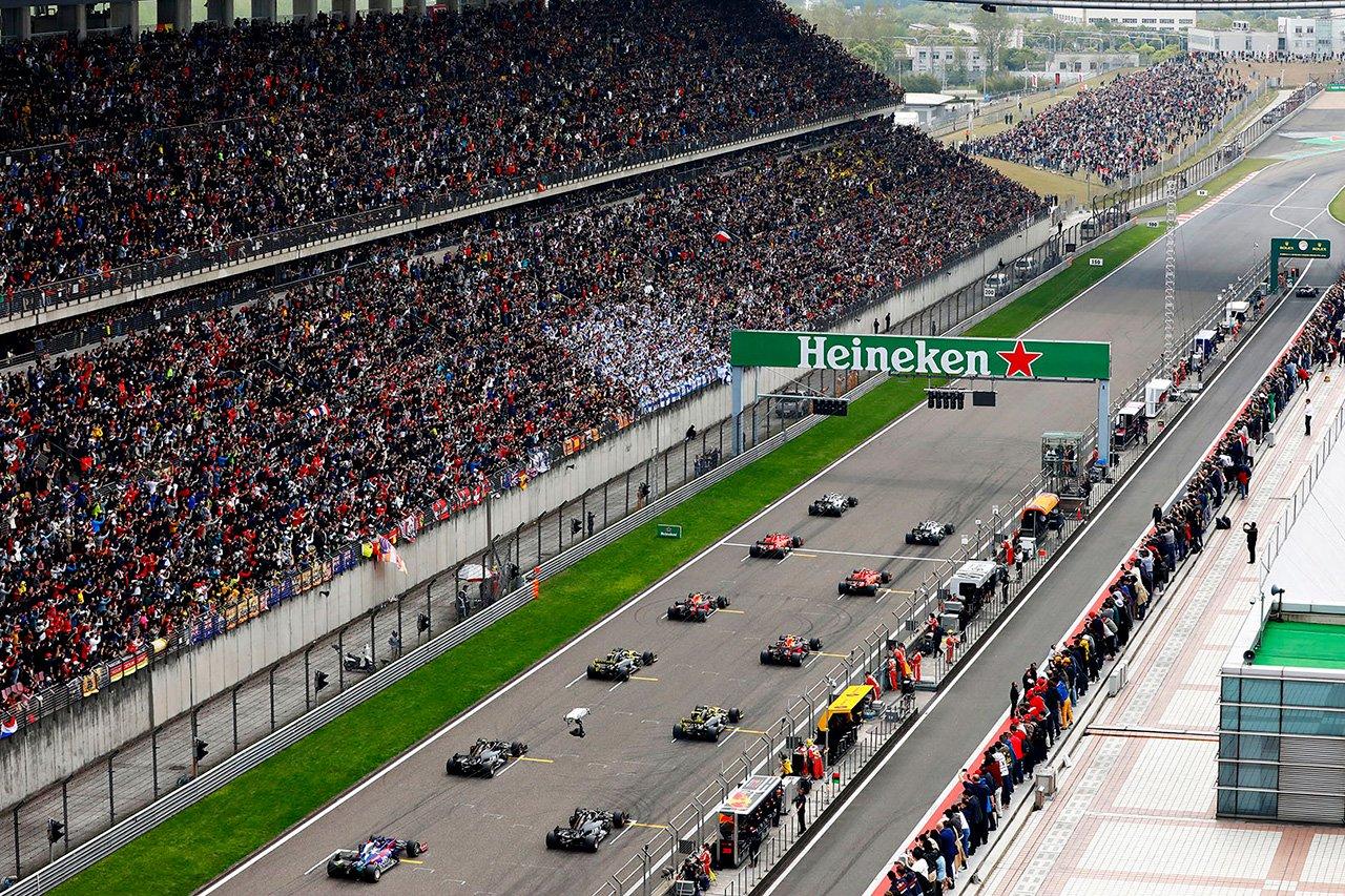 F1中国GP:F1日本GPとの連戦で10月18日に開催との噂