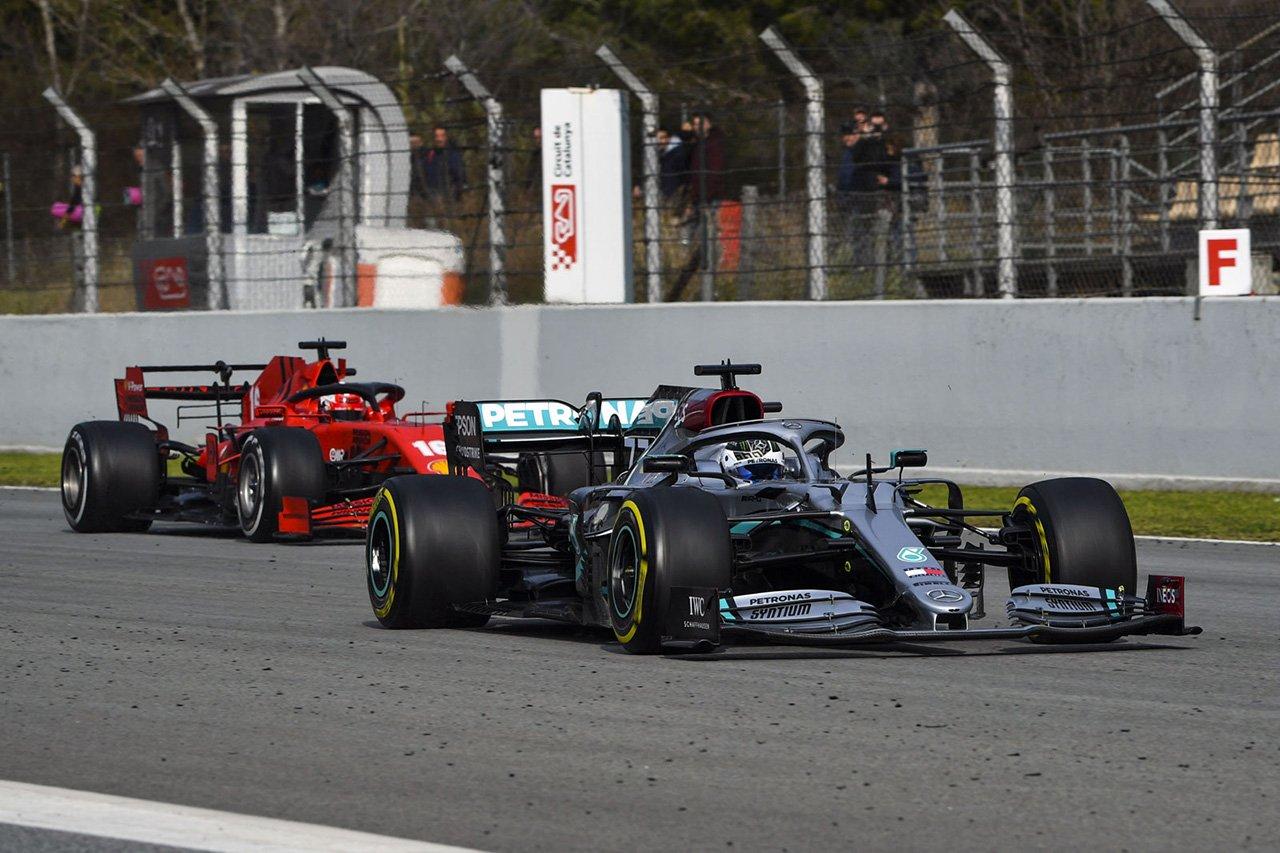 F1:フェラーリがメルセデスのDASに反応しない理由…PASの存在