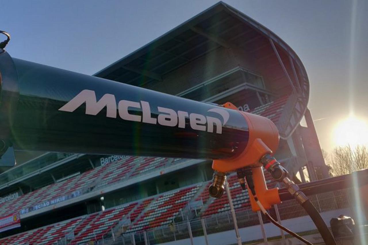 F1:マクラーレン、サウサンプトン大学と提携して医療保護具を開発