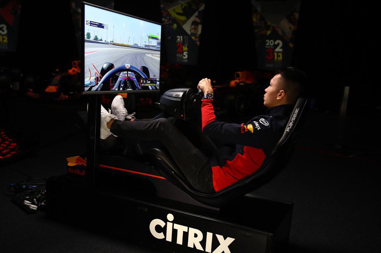 アレクサンダー・アルボン、F1バーチャル・ベトナムGPに参戦決定 / レッドブル・ホンダF1