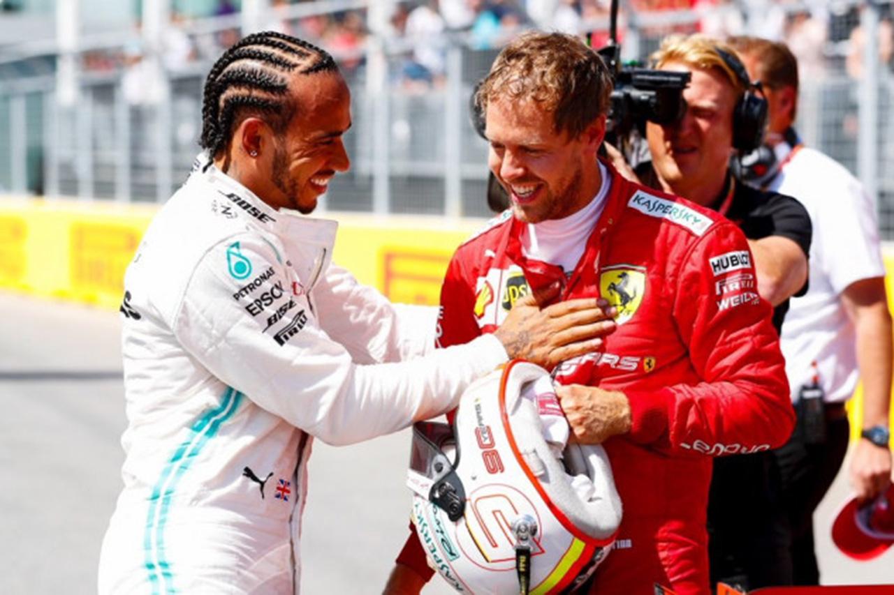 F1:ルイス・ハミルトンとセバスチャン・ベッテル、給与減額を申し出