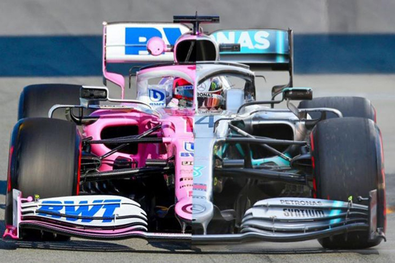 """ルノーF1、レーシングポイントの""""ピンク・メルセデス""""に問題提起"""
