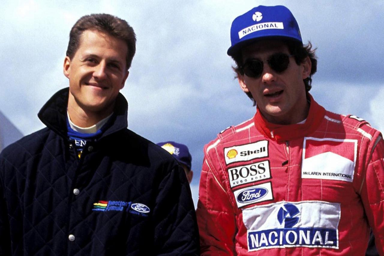 F1:フェラーリ元会長 「セナとシューマッハは共存できなかっただろう」