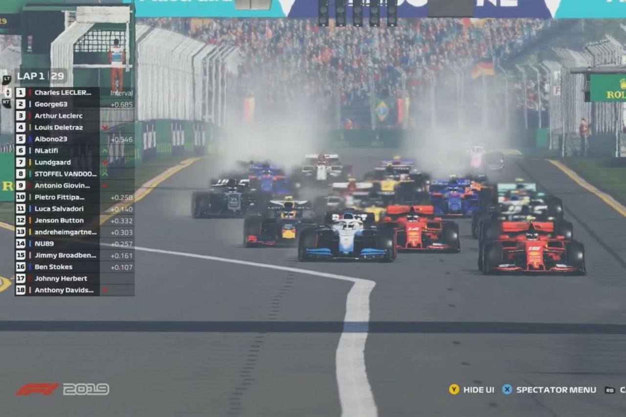 【動画】 F1バーチャルGP 第2戦 決勝ハイライト
