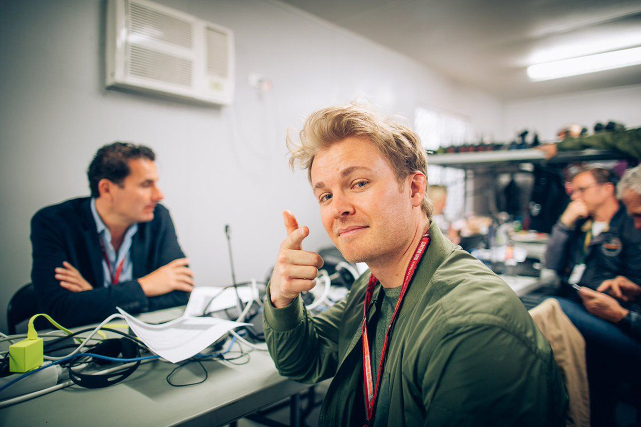 ニコ・ロズベルグ 「F1バーチャルGPに参加したいが閉鎖で機材が揃わない」
