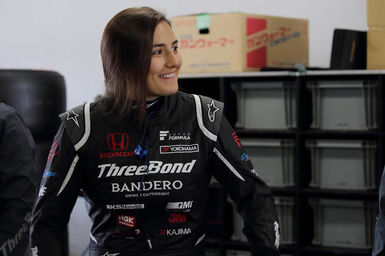F1:タチアナ・カルデロン 「テストのために日本に行くのはクレイジーだった」 / スーパーフォーミュラ