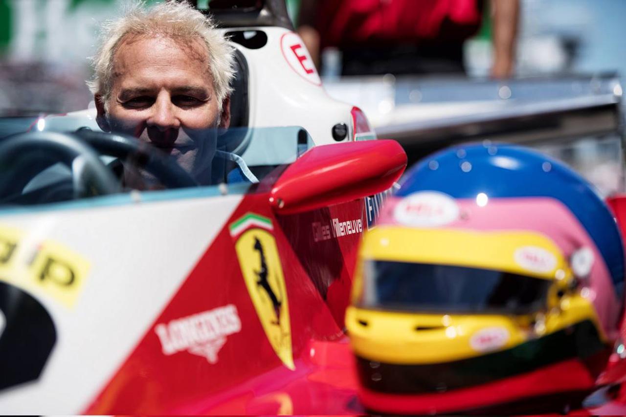 F1:ジャック・ヴィルヌーヴ、バーチャルレースに参戦