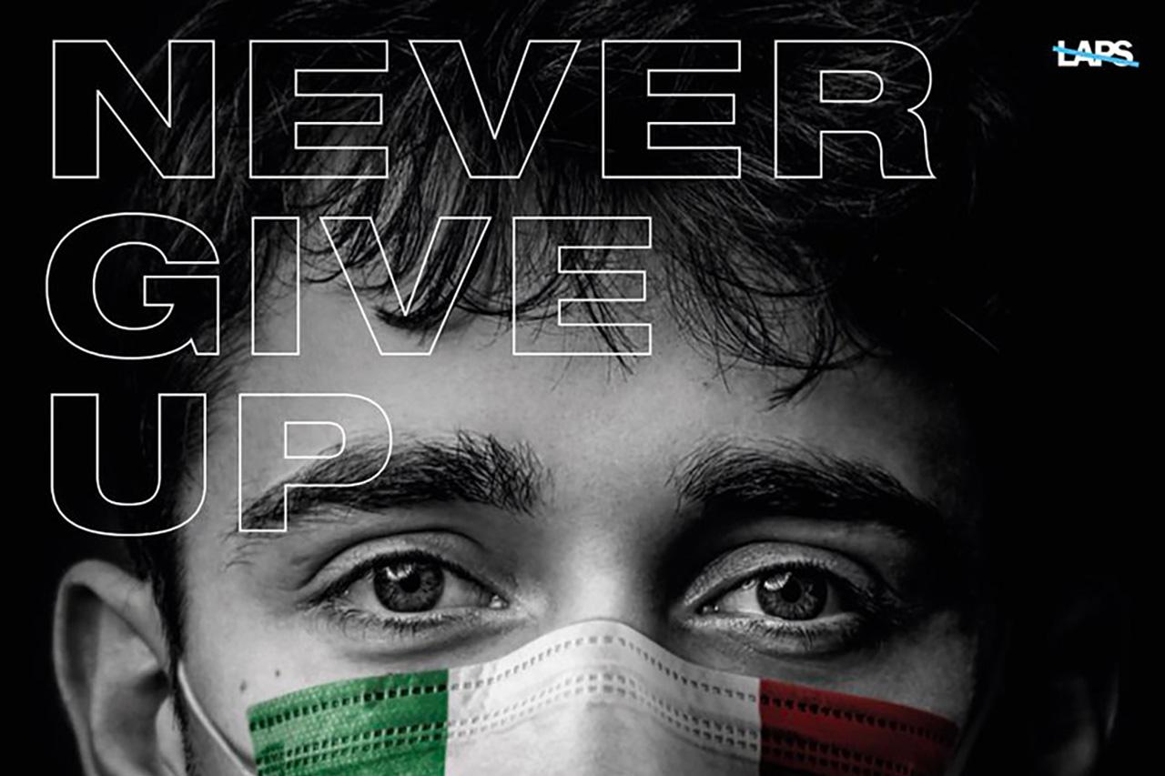 F1:シャルル・ルクレール、イタリア赤十字の募金活動を支援