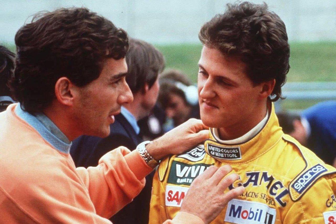 F1見聞録:アイルトン・セナはシューマッハが脅威になると理解していた