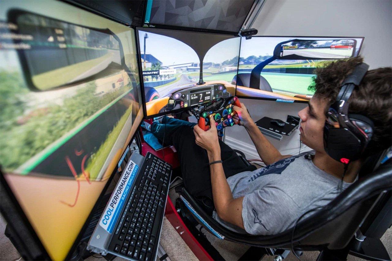 ランド・ノリス、F1公式ゲーム『F1 2019』は「リアルじゃない」