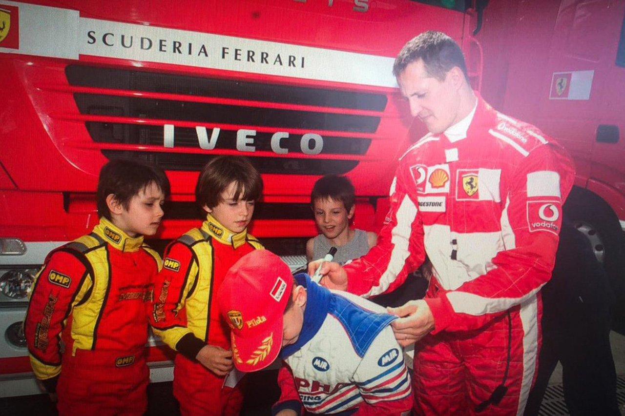 F1:シャルル・ルクレール 「ミハエル・シューマッハがヒーローだった」