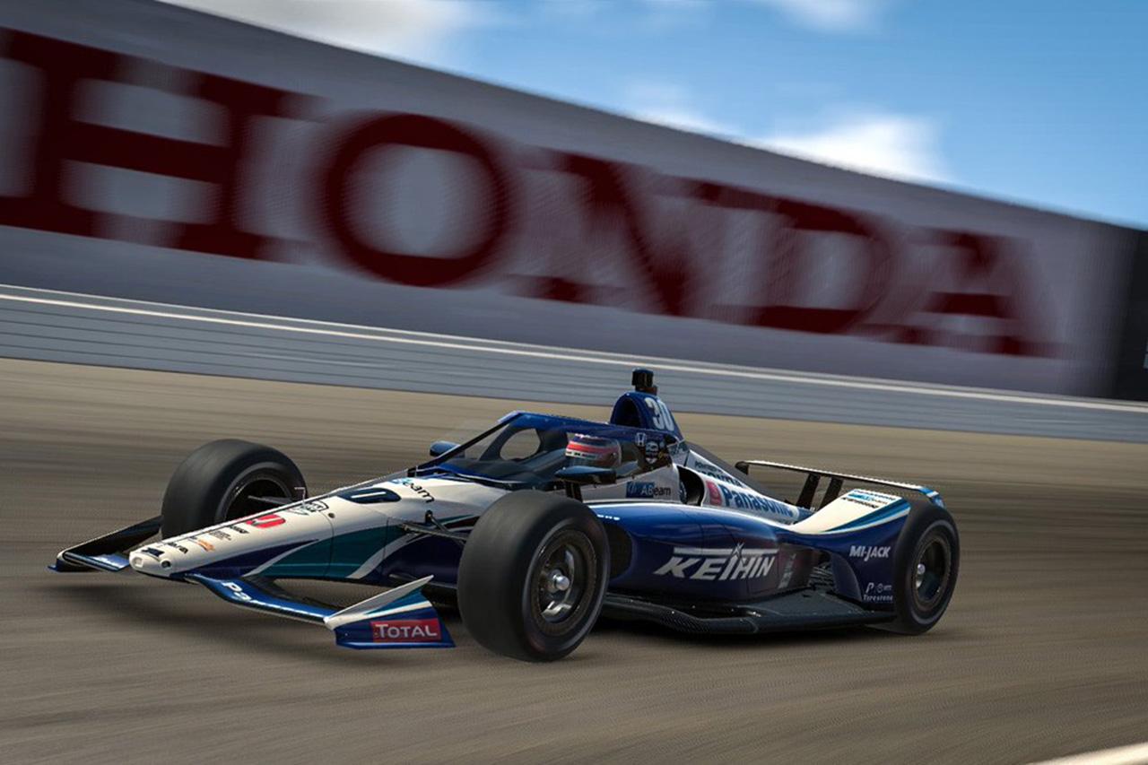 F1:佐藤琢磨 「バーチャルレースのデビュー戦は楽しかった!!」