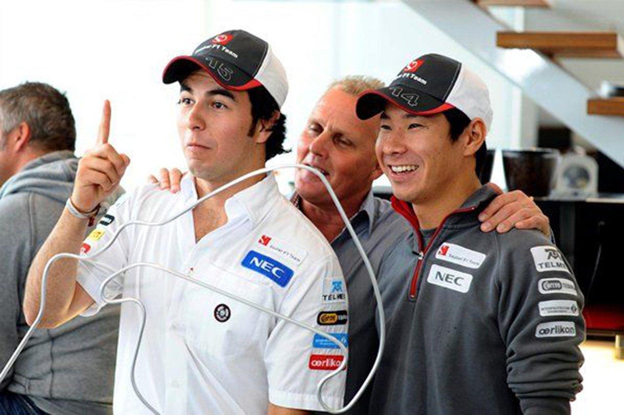 F1:小林可夢偉、セルジオ・ペレスとのザウバー時代を回顧