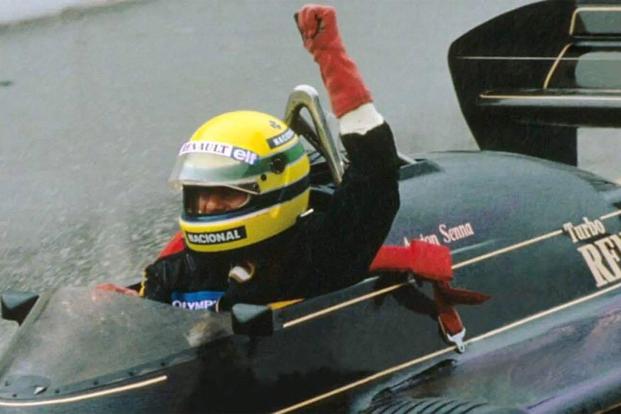 アイルトン・セナ、F1初勝利から35年 (1985年F1ポルトガルGP)