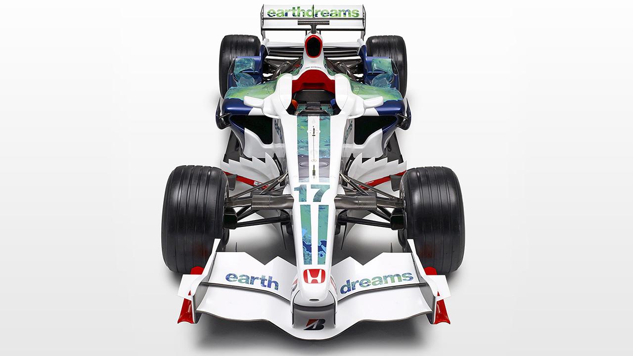 ホンダ RA108 2008年のF1世界戦選手権