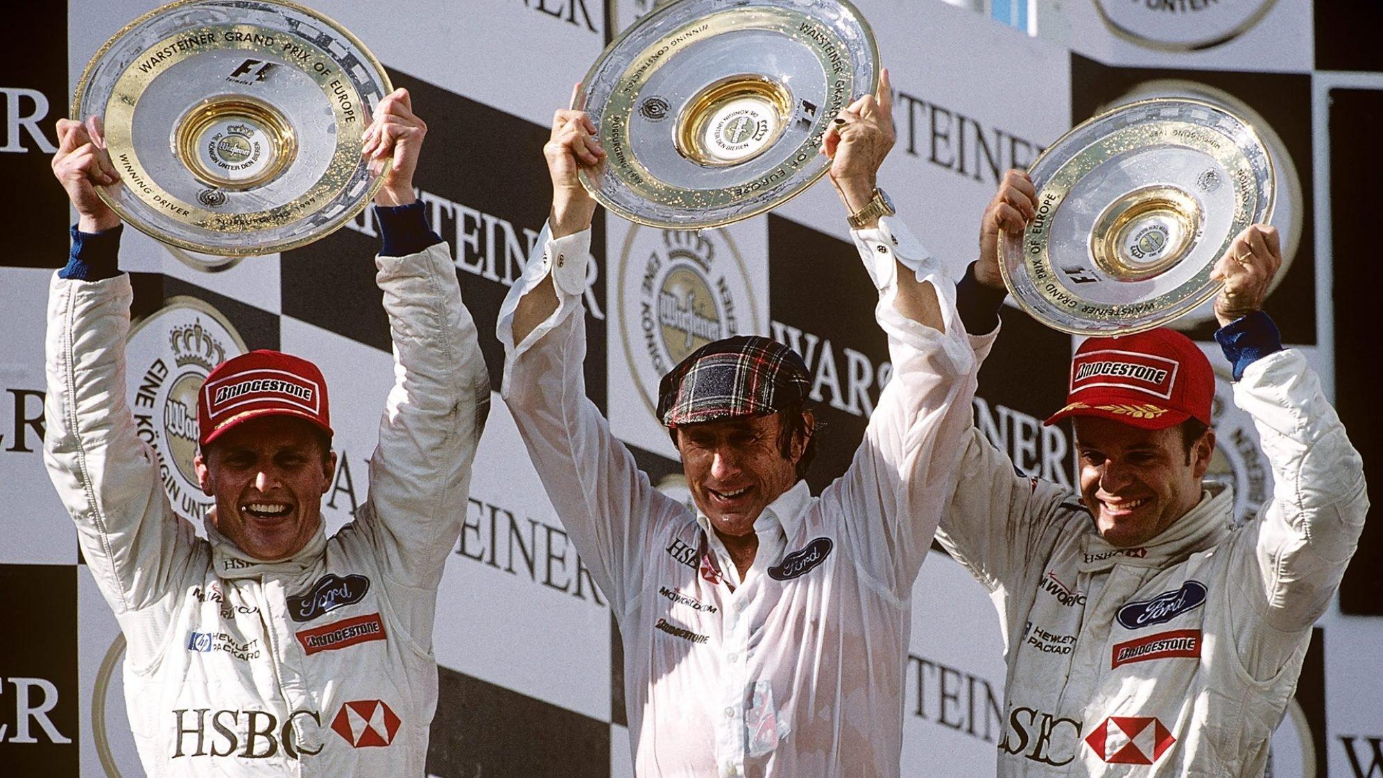 F1 スチュワート・グランプリ 優勝