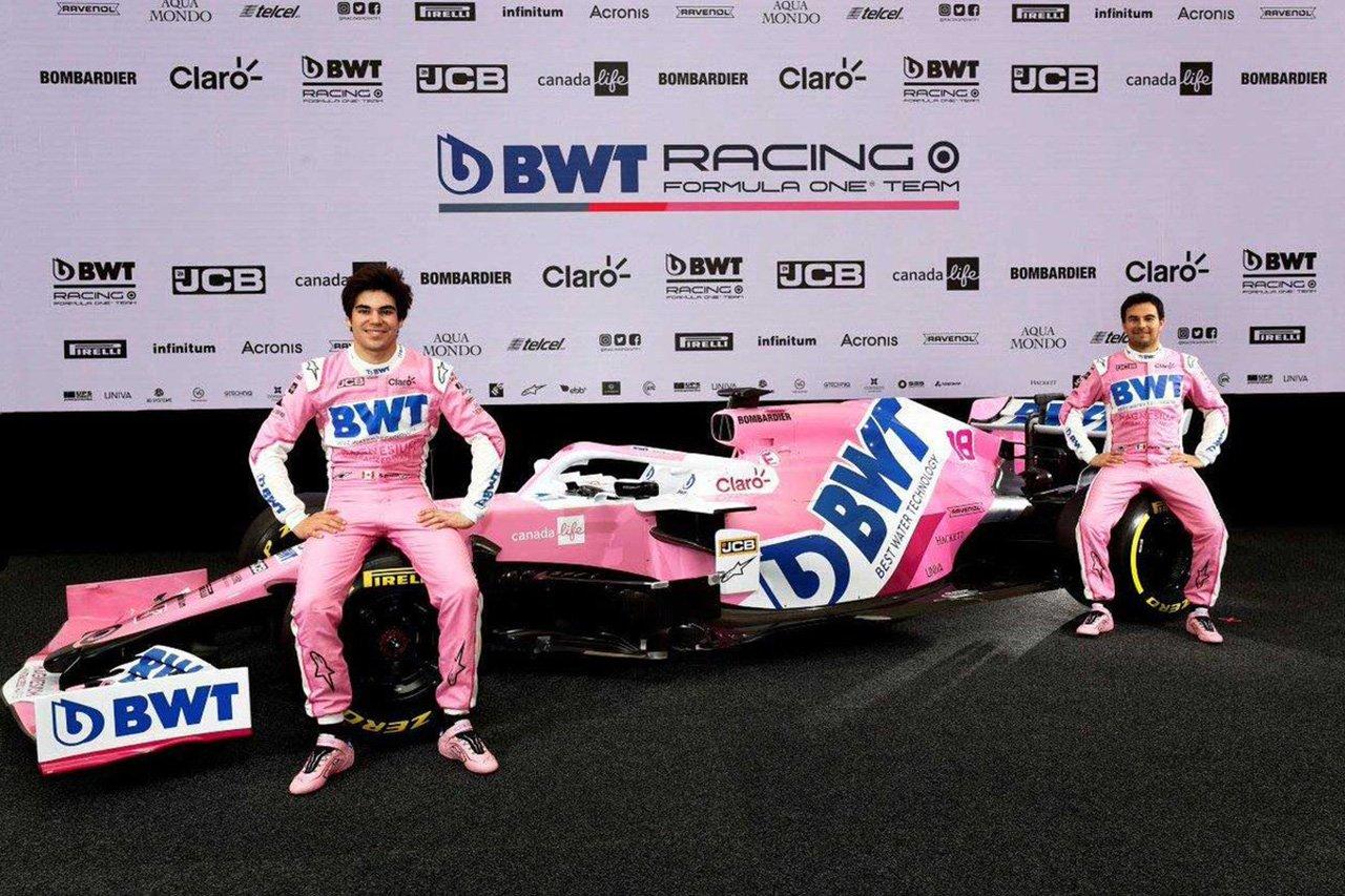 アストンマーティンF1、セルジオ・ペレスとランス・ストロールが続投