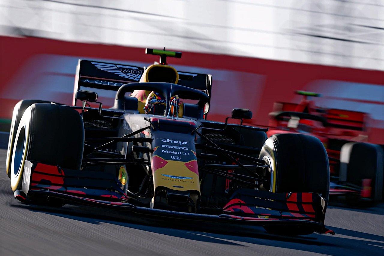 F1バーチャルGP 第4戦 結果:アレクサンダー・アルボンが初優勝! / レッドブル・ホンダF1